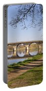 Hexham Bridge And Riverside Path Portable Battery Charger