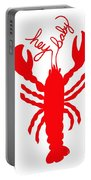 Hey Baby Lobster With Feelers  Portable Battery Charger