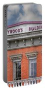 Heywoods Heywood Building In Old Sacramento California Portable Battery Charger