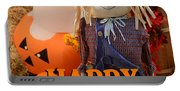 Feel Good Happy Halloween Portable Battery Charger