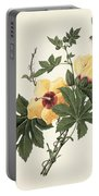 Hibiscus And Butterfly Portable Battery Charger