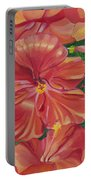 Hibiscus Portable Battery Charger