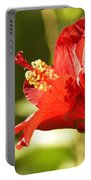 Hibiscus Loving Sun Portable Battery Charger