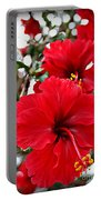 Hibiscus Perspective Portable Battery Charger