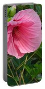 Hibiscus Profile Portable Battery Charger