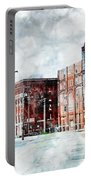 Hickory - Urban Building Row Portable Battery Charger