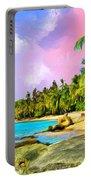 Hidden Paradise Portable Battery Charger