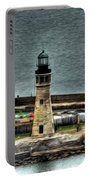 High Above The Lighthouse  Portable Battery Charger