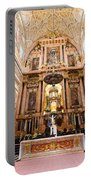 High Altar Of Cordoba Cathedral Portable Battery Charger