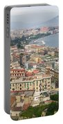High Angle View Of A City, Naples Portable Battery Charger