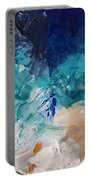 High As A Mountain- Contemporary Abstract Painting Portable Battery Charger