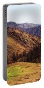 High Park Fire Burn Portable Battery Charger