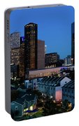 High Rise Buildings In Houston Portable Battery Charger