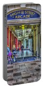 High Street Arcade Cardiff Portable Battery Charger