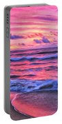 High Tide At San Onofre Portable Battery Charger