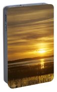 High Tide In The Marsh Portable Battery Charger
