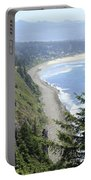 High View Of Oregon Coast Portable Battery Charger