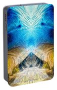 Higher Love Art By Sharon Cummings Portable Battery Charger