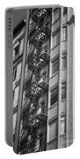 Highrise Fire Escape Bw Portable Battery Charger