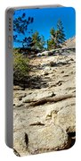 Hikers On Sentinel Dome Trail In Yosemite Np-ca  Portable Battery Charger