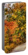 Hiking In Autumn Portable Battery Charger