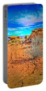 Hiking In Canyonlands Portable Battery Charger