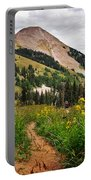 Hiking In La Sal Portable Battery Charger