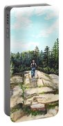 Hiking In Maine Portable Battery Charger