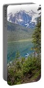 Hiking On Emerald Lake Trail In Yoho Np-bc Portable Battery Charger