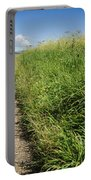 Hiking Path In Devon England Portable Battery Charger