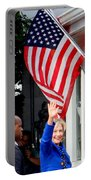 Hillary Clinton Portable Battery Charger by Ed Weidman