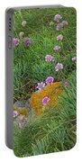 Hillside Of Wildflowers Portable Battery Charger