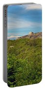 Hillside View Of Swissair Flight 111 Memorial In Whalesback-ns Portable Battery Charger