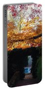 Hillwood Mansion Fall Garden Portable Battery Charger