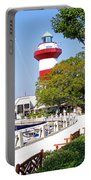 Hilton Head Lighthouse And Marina 2 Portable Battery Charger