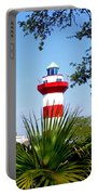 Hilton Head Lighthouse And Palmetto Portable Battery Charger