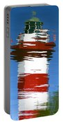 Hilton Head Lighthouse Reflection Portable Battery Charger