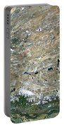 Himalaya Mountains Asia True Colour Satellite Image  Portable Battery Charger