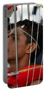 Hindu Thaipusam Festival Pierced Devotee In Singapore Portable Battery Charger
