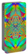 Hippies Unite Portable Battery Charger
