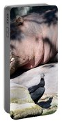 Hippo And Friend Portable Battery Charger