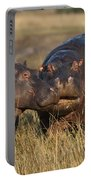 Hippo Cow And Calf Portable Battery Charger