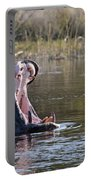 Hippo Yawning Portable Battery Charger