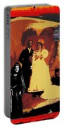 Hispanic Wedding Libertad Lady Photo Gallery Collage 1880-2010 Portable Battery Charger