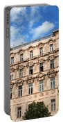 Historic Apartment House In Budapest Portable Battery Charger