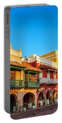 Historic Colonial Facades Portable Battery Charger