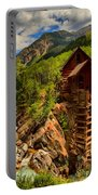 Historic Colorado Portable Battery Charger by Adam Jewell