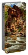 Historic Colorado Landscape Portable Battery Charger