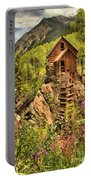 Historic Crystal Colorado Portable Battery Charger by Adam Jewell