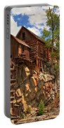 Historic Crystal Mill Portable Battery Charger by Adam Jewell